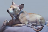 《艺术动物》CG雕塑手办制作全流程专攻手册 【案例实战】