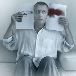 创意老年自杀照片