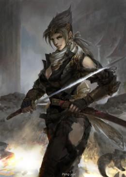 彭钥--女武士