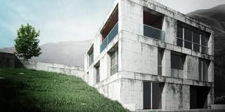 VRay for SketchUp建筑日景表现
