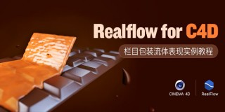 Realflow for C4D流體插件應用實例教程詳解