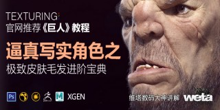 逼真写实角色《巨人》之极致皮肤毛发进阶宝典【正版|中字】