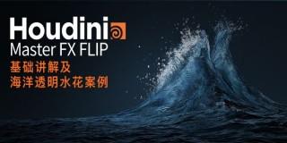 Houdini Master FX FLIP基礎講解及海洋透明水花案例