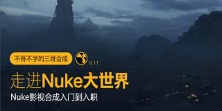 走进Nuke大世界《Nuke从入门到入职》系统教学【实时答疑】