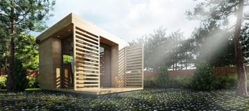 VRay for SketchUp 小庭院全模型渲染