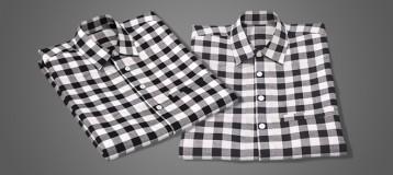 MD8衬衫折叠教程