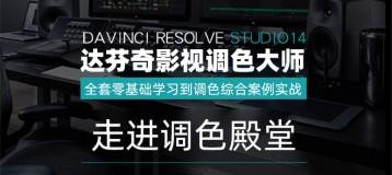 《DaVinci Resolve达芬奇14 学习宝典》从基础到实战