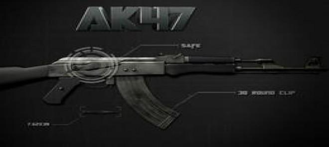 MAYA-AK47模型制作