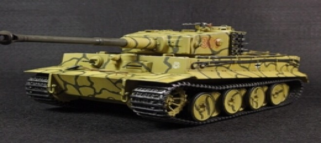 MAYA-虎式坦克模型制作
