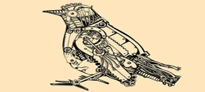 MAYA机械鸟模型制作