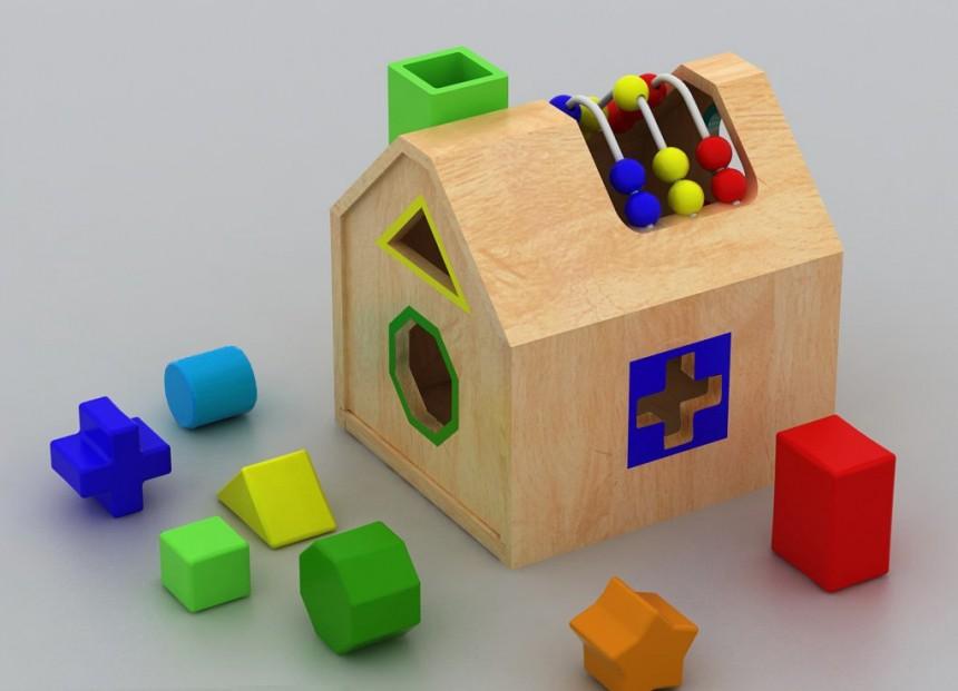创意儿童积木积木,木制木制玩具积木-翼狐网房子户外v儿童记录小班图片
