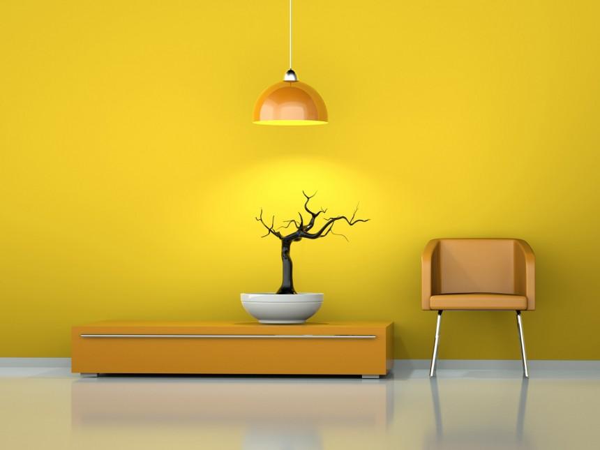 黄色调时尚家居