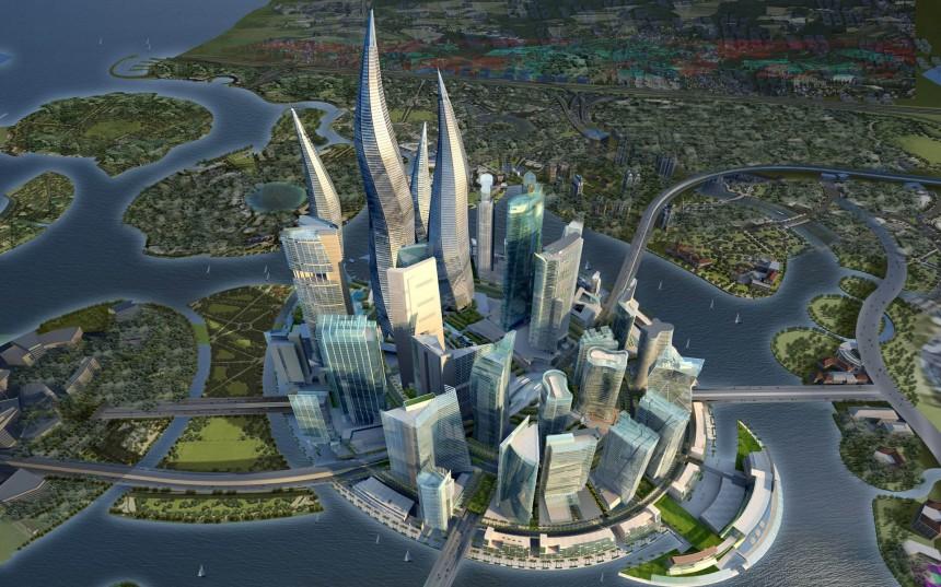 摩天大厦效果图
