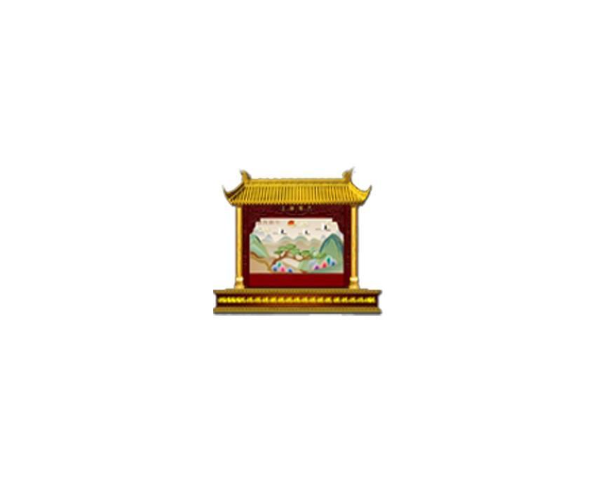 中国风大宅院图标