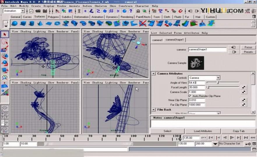 课时9:摄像机动画及渲染输出