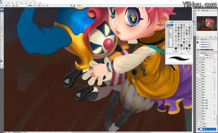 课时8:高光颜色表现与背景素材绘制-1
