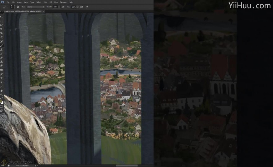 课时10:城堡和城市绘制-2