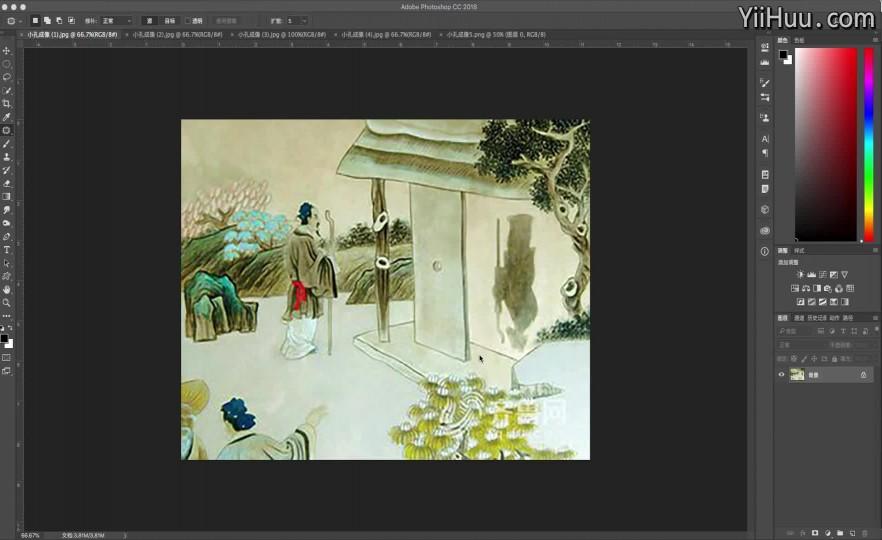 第2节:商业人像摄影市场与商业修图师职业的来源