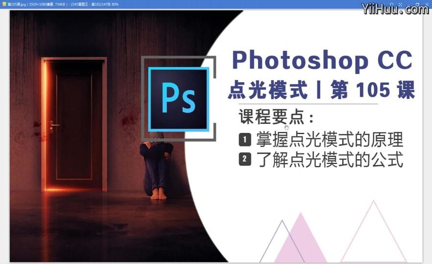 课时105:点光模式—— 对图像添加特殊效果