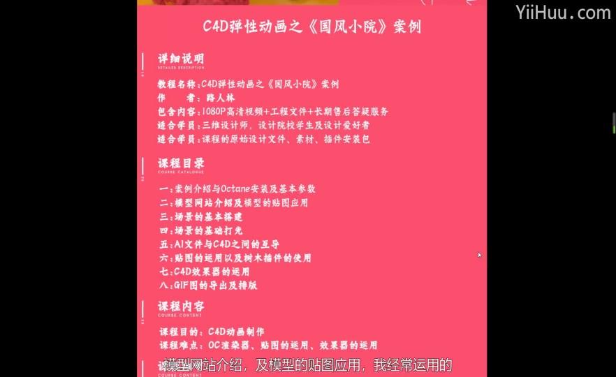 C4D - 人物模型调整【案例】