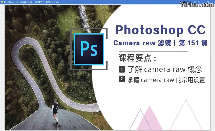课时151:Camera Raw滤镜——玩转数字底片