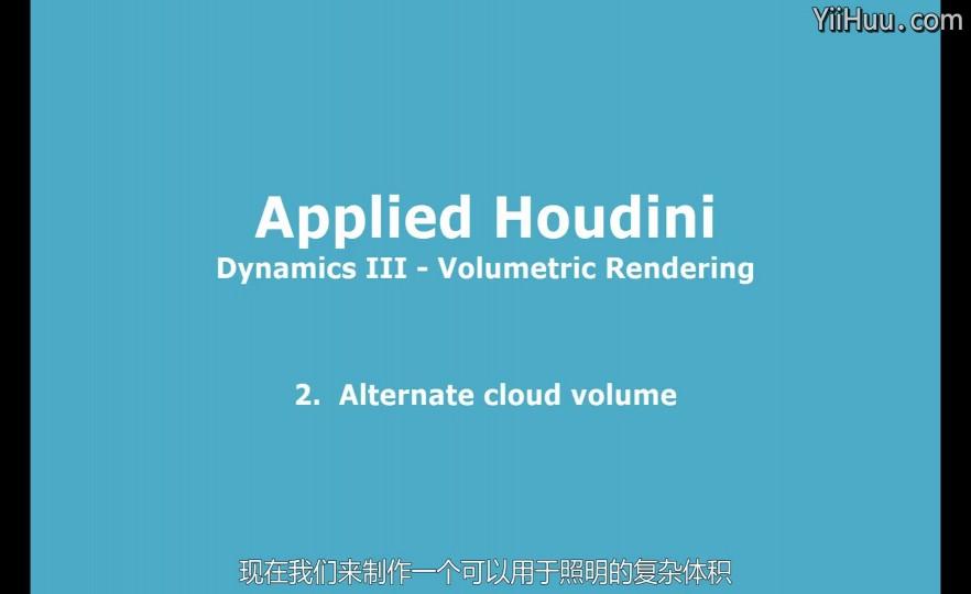 课时26:Alternate demo volume