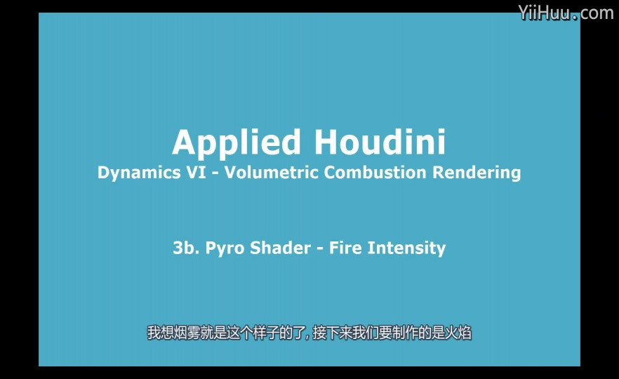 课时66:Pyro着色器- 火焰强度