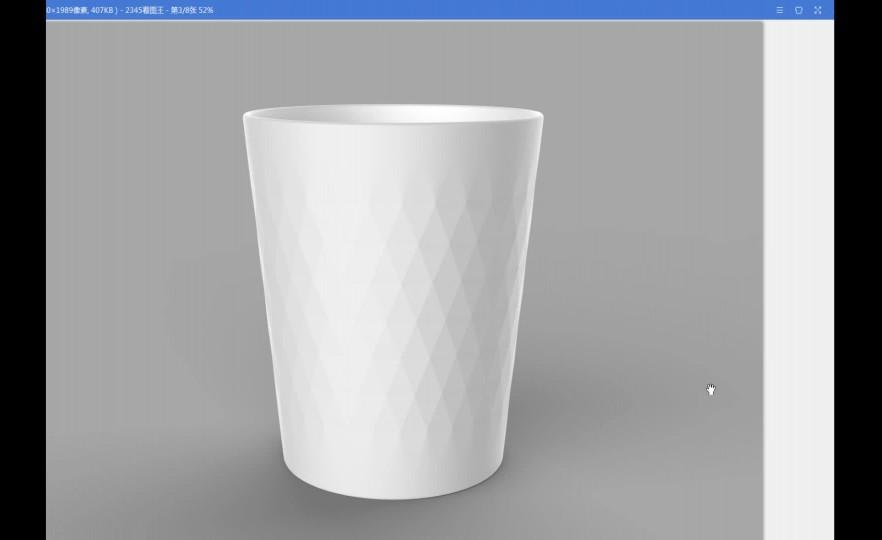 Rhino+keyshot陶瓷杯纹理造型建模渲染