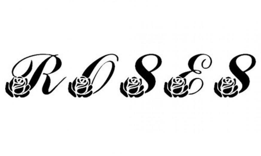 30个漂亮的花图案字体022