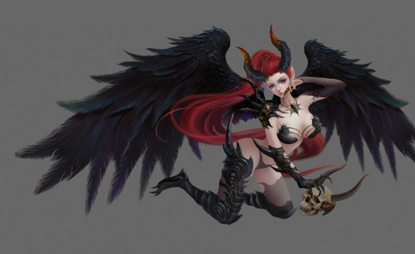 恶魔首席的贴身小秘_女恶魔
