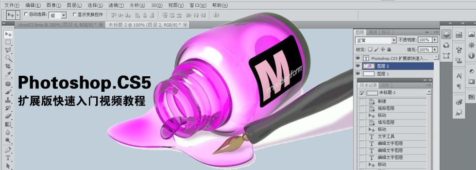 Photoshop.CS5扩展版快速入门视频教程