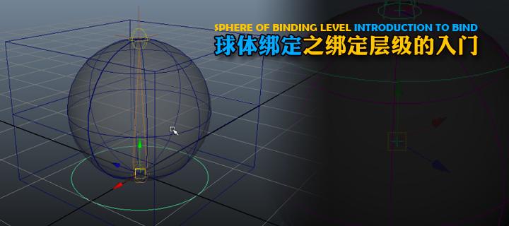 球体绑定之绑定层级的入门