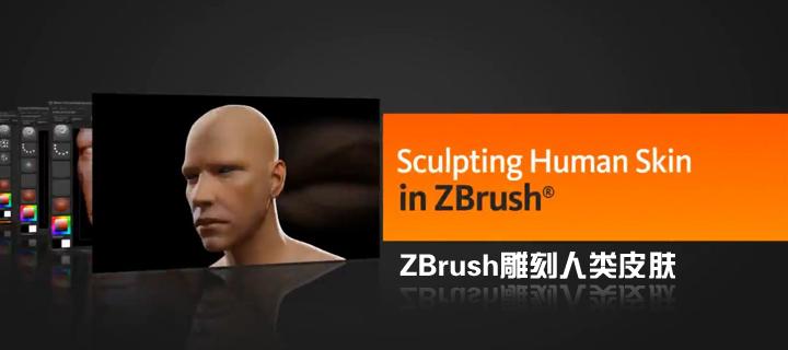 ZBrush雕刻人类皮肤(Digital Tutors出品)