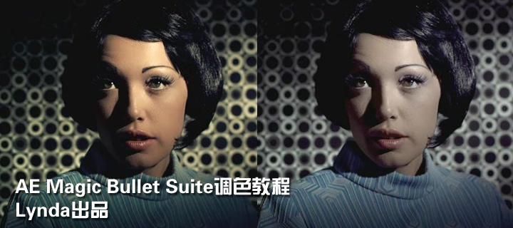 AE Magic Bullet Suite调色教程(Lynda出品)