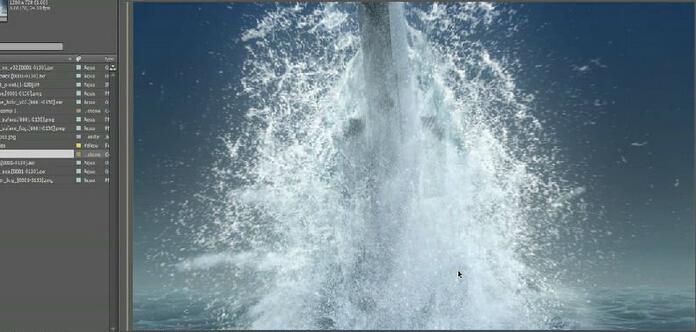 Realflow与Maya获取打湿及场景水流效果