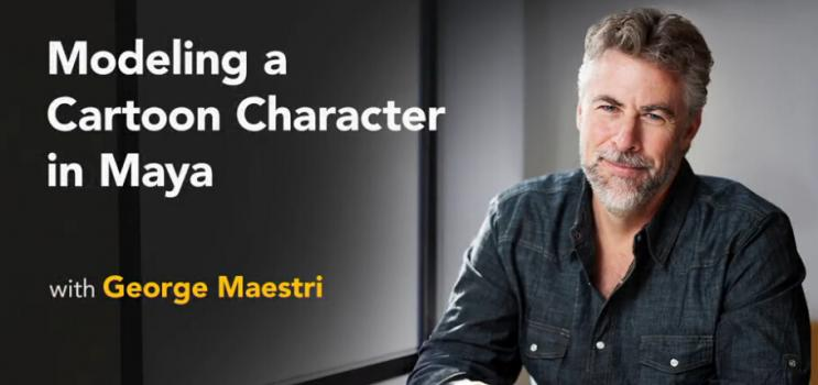 Maya建模卡通角色模型教程