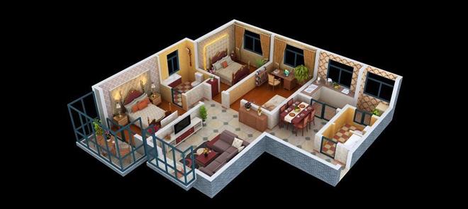 3dsMax与V-Ray建筑室内渲染