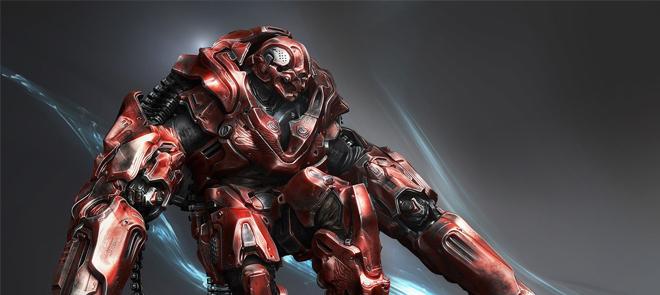 ZBrush绘制机器人