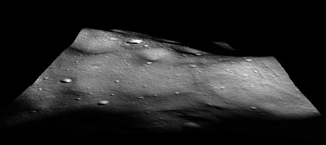月球表面地形制作