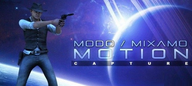 Modo Mixamo Unity结合教程