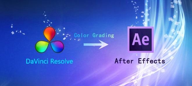 AE导入达芬奇调色设置教程