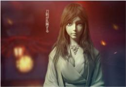 Zbrush和Maya制作日本女武士