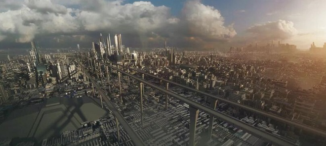 C4D大城市场景