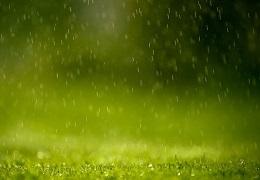 pf粒子制作雨水低落效果