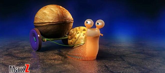 3ds Max动画《蜗牛车夫》之「材质制作与灯光解析」