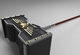 C4D如何创建电影雷神之锤
