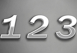 Cinema 4D金属字体设计教程
