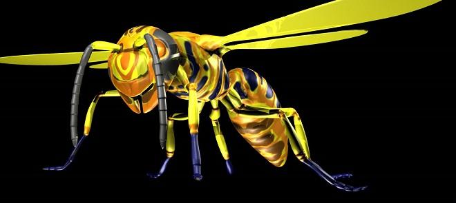 《黄蜂怪》模型制作全解析
