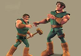 Maya角色动画快速表现技法