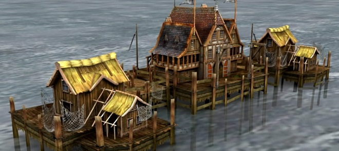 Maya码头小屋制作快速入门